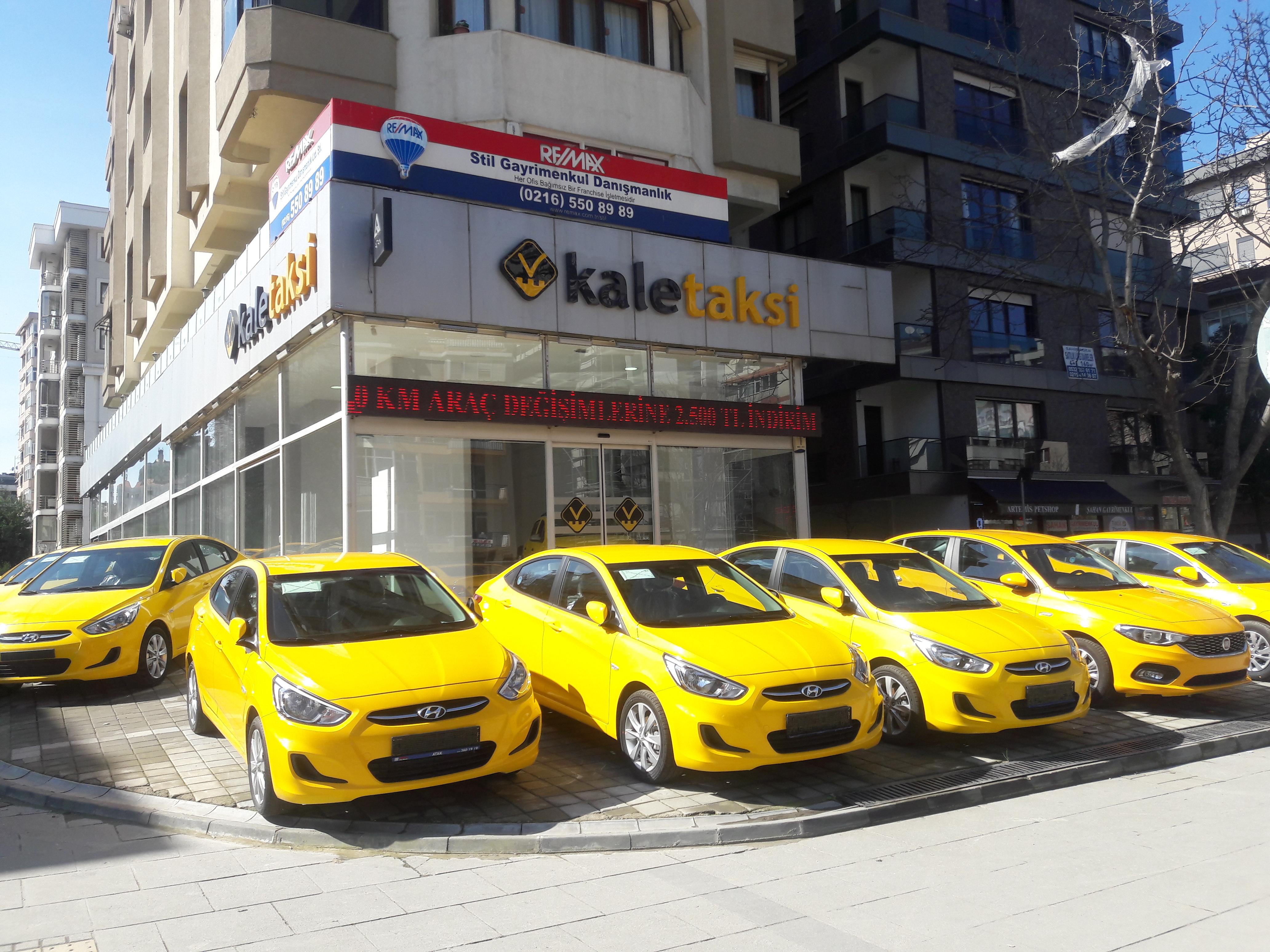 Kale Taksi Kadıköy Şubesi Hizmete Girdi!